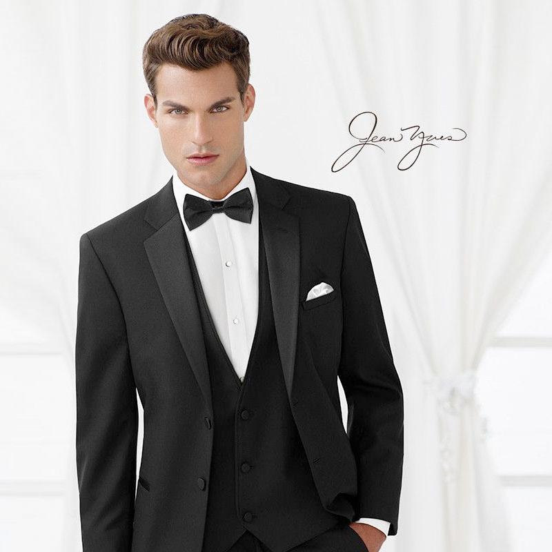 Black tuxedo rental cumming georgia tuxedo wearhouse for Tuxedo house