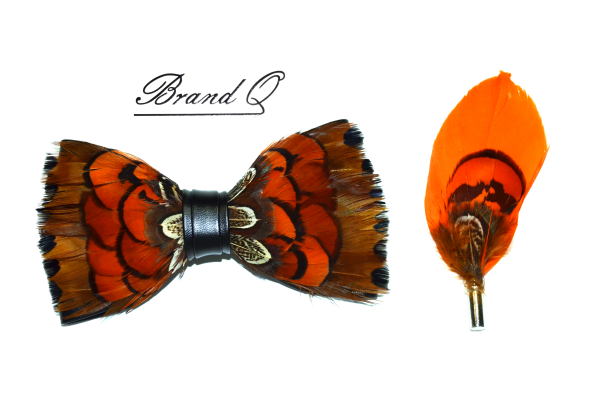 Feather Bowtie 11
