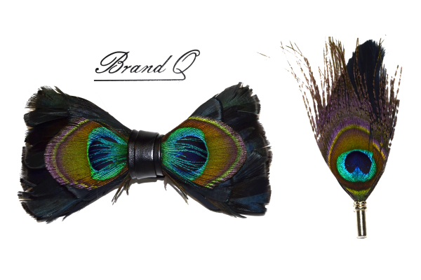 Feather bowtie 2