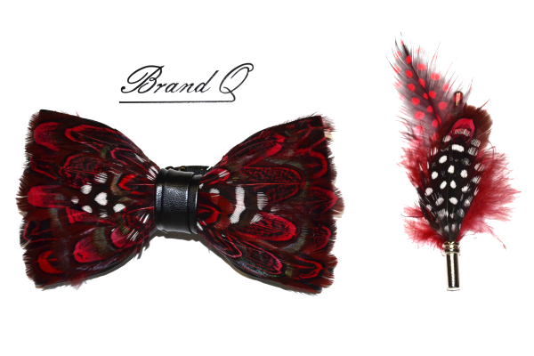 Feather bowtie 4