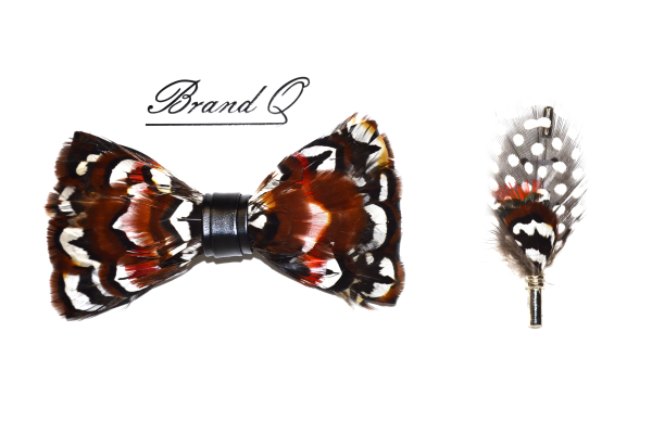 Feather bowtie 8