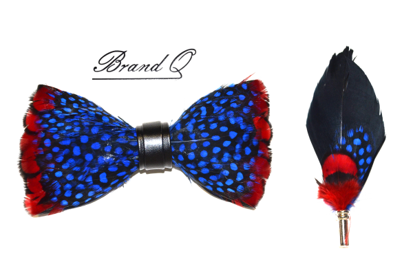 Feather bowtie 9